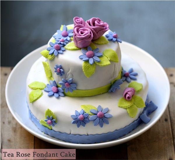 27 best Birthday Cakes for Women images on Pinterest Fondant