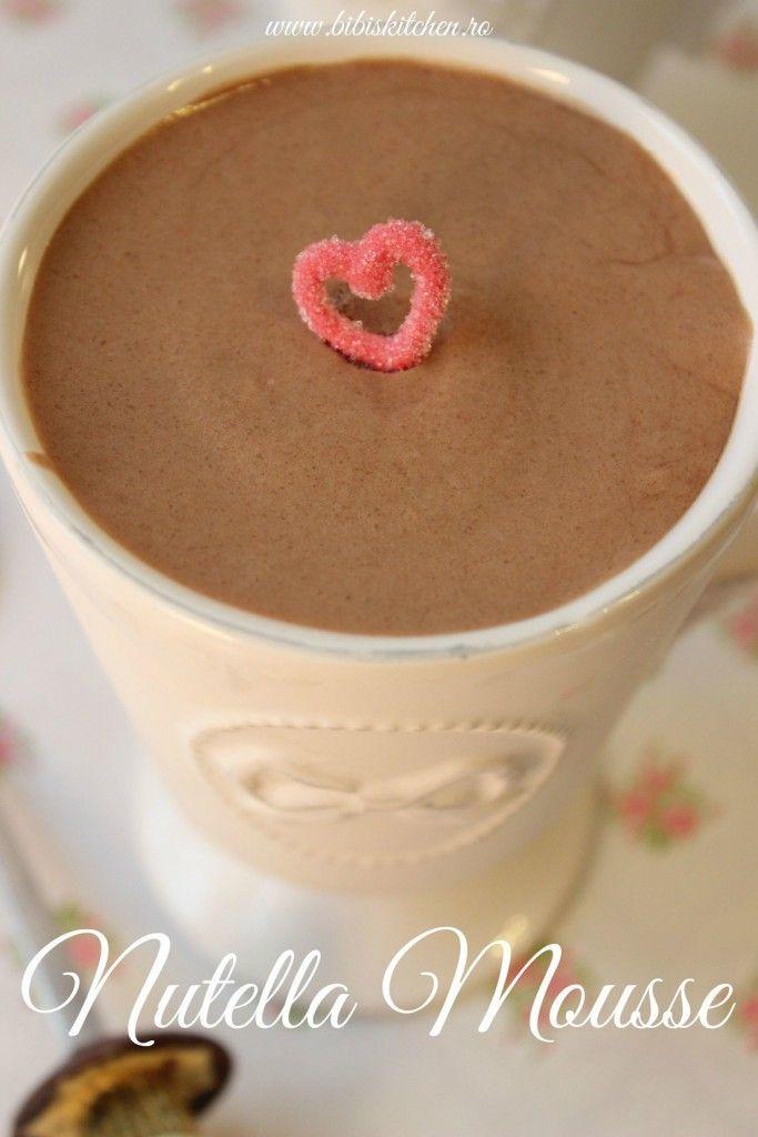 Mousse cu Nutella | Bibi's Kitchen