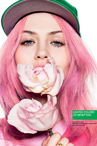 Sometimes I feel like doing this. New Benetton campaign.