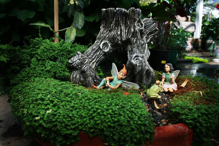 fairy gardens pictures | ... just captured our imaginations; we went to visit the fairy gardens