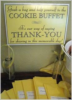 Cookie Buffet Display