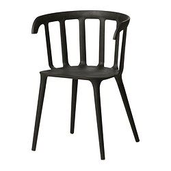 IKEA PS 2012 Armchair, black - IKEA