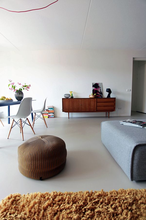 Sideboard and eames chair combo