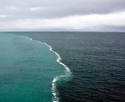 the gulf of alaska where 2 oceans meet