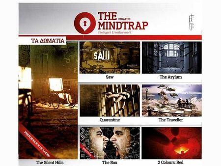 """Tο """"μυστήριο"""" του THE MINDTRAP συνεχίζεται στον Πειραιά!"""