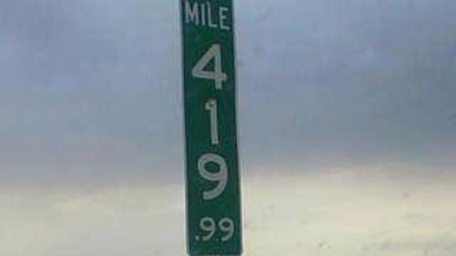 Colorado replaces 420 mile marker with 419.99 after multiple thefts