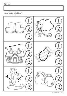 Snowflake Worksheets Preschool Google Pretraživanje