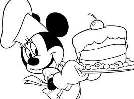 Disney Junior   Udskriv og farvelæg - Mickey Klubhus