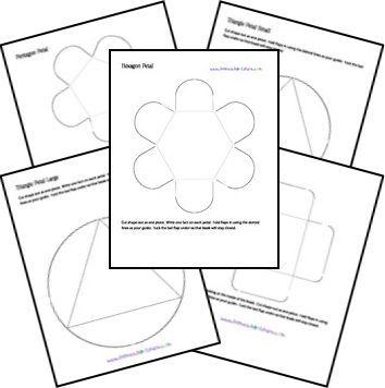 Plantillas lapbook   from Laura González                 DISTINTAS PLANTILLAS   Pockets        Tri-folds   Petal Books    Flap Book...