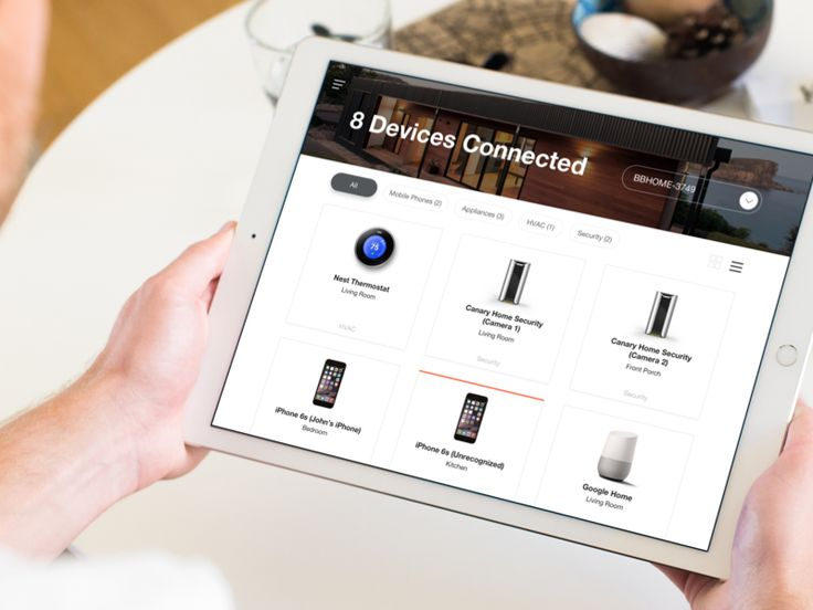 IoT Connected Devices - iPad App by John Menard