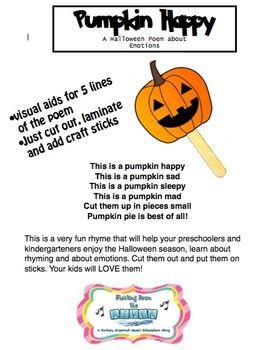 halloween rhyming pictures