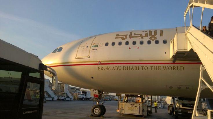 Airline Review: Etihad Airways (long haul Economy) – http://traveluxblog.com/2015/04/07/airline-review-etihad-airways-long-haul-economy/ #etihad #travel #wanderlust #flight #airline #review #longhaul #economy