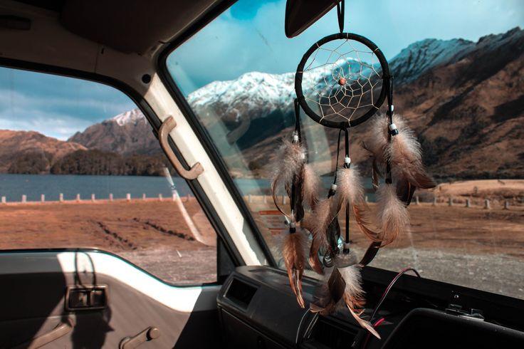vanlife vanlifers project vanlife explore simplelife outdoorcollective wanderlust hippie boho vibe dreamcatcher moke lake campsite