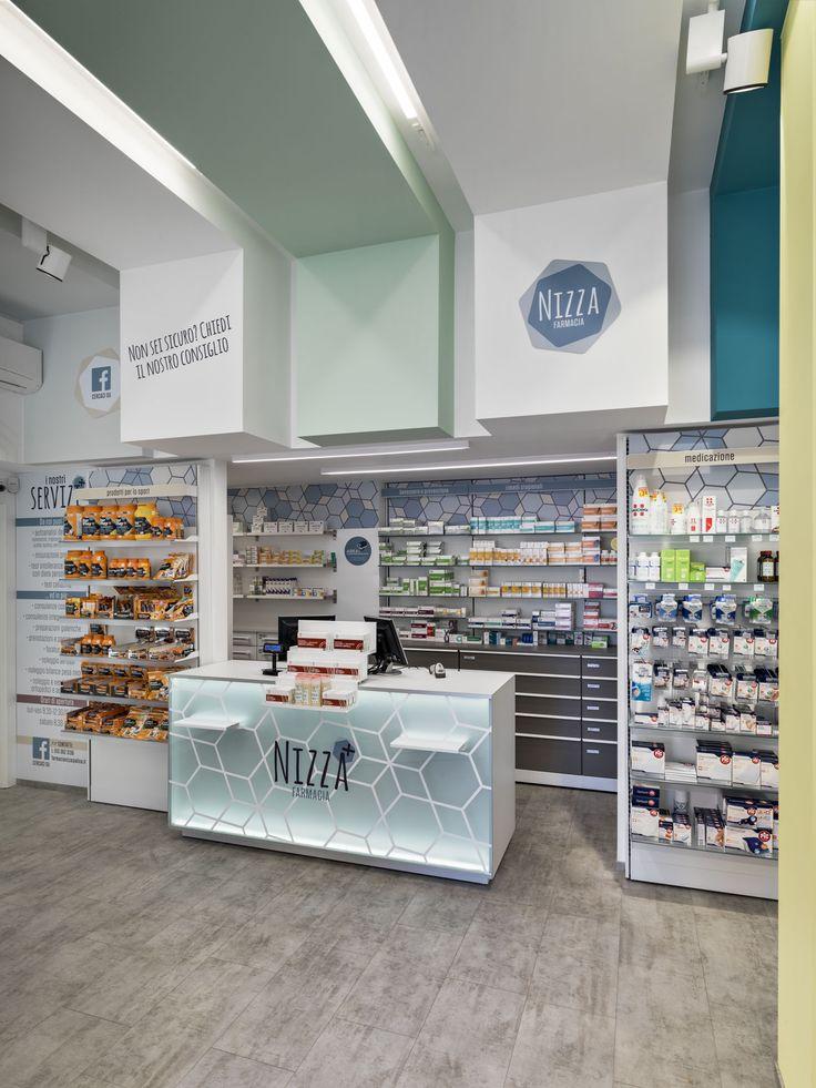 Ristrutturazione esemplare di una farmacia di piccole dimensioni