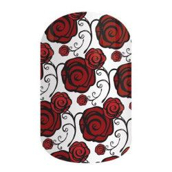 Alpha Omicron Pi Rose Sorority nail wraps! Click the picture to get them now! No dry time, non-toxic, vegan, allergy friendly and lasts about 2 weeks on your mani!