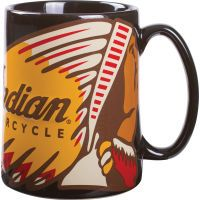 Indian Motorcycle Sculpted Coffee Mug  (Set of 2)