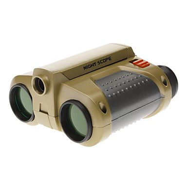 4X30mm Night Scope Focus Adjusted Binoculars with Pop-Up Spotlight and Nick Strap – EUR € 12.87