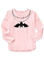 Gymboree Pink Bat Necklace Long Sleeve Top Girls found on sale at ZULILY about 9 hours ago