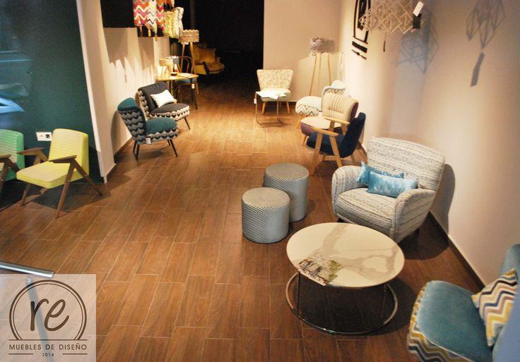 #butaca #diseño #decoracion #interiores #muebles Barcelona #vintage # años 60 #retro #tienda de muebles #cojines #lamparas #reprojektownia #mesa de cafe