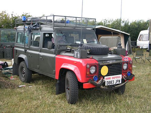 uxb eod land rover - Google Search