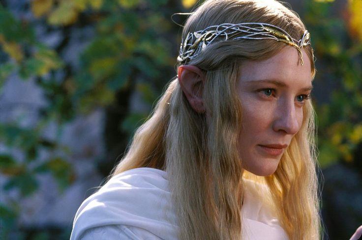 La coiffure de Cate Blanchett dans Le Seigneur des Anneaux