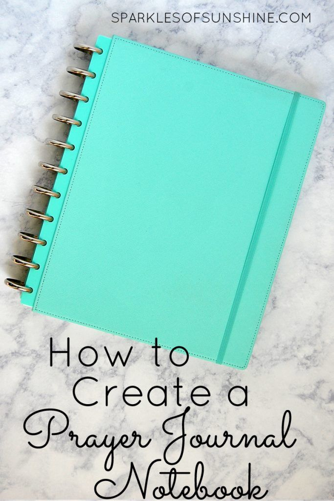 Learn how to create a prayer journal notebook of your very own to enrich your prayer life.