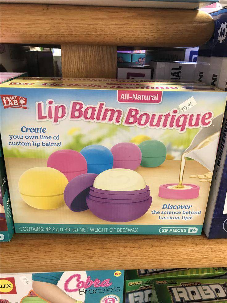 Lip balm boutique #fun #toys #toystore #kids #lipbalm #imagine #imagination #imaginationstationii #diy #create #crafts #crafty