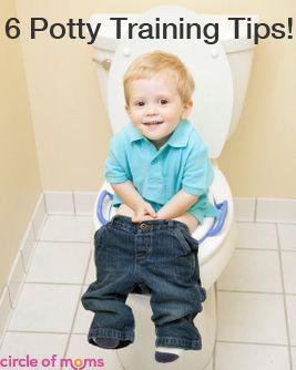 Potty training tips for boys