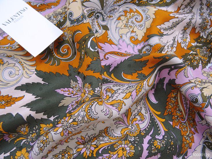 #Valentino #silk #jacquard