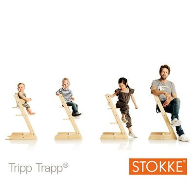 Stokke Trip Trap (145€ ?) - plein de coloris disponibles