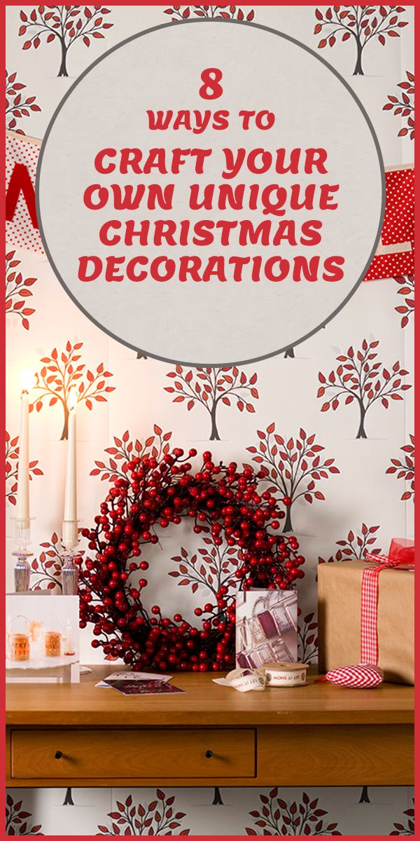 Foraging for Christmas decorations?! Get creative this year!