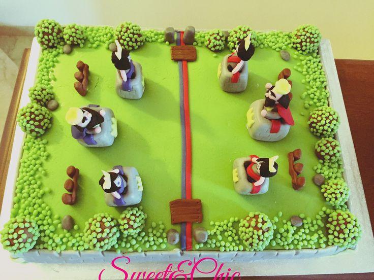 Clash Royal cake