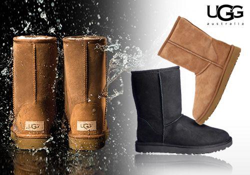 UGG αυθεντικές γυναικείες μπότες σε νέο αδιάβροχο design