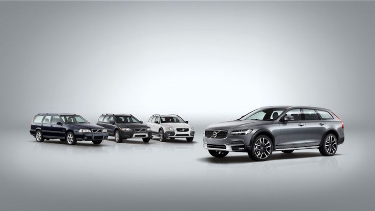 Volvo представили V90 Cross Country