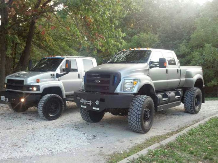 Chevy Kodiak and Ford F-650