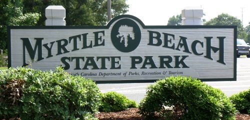 Myrtle Beach State Park - will be back here in October.