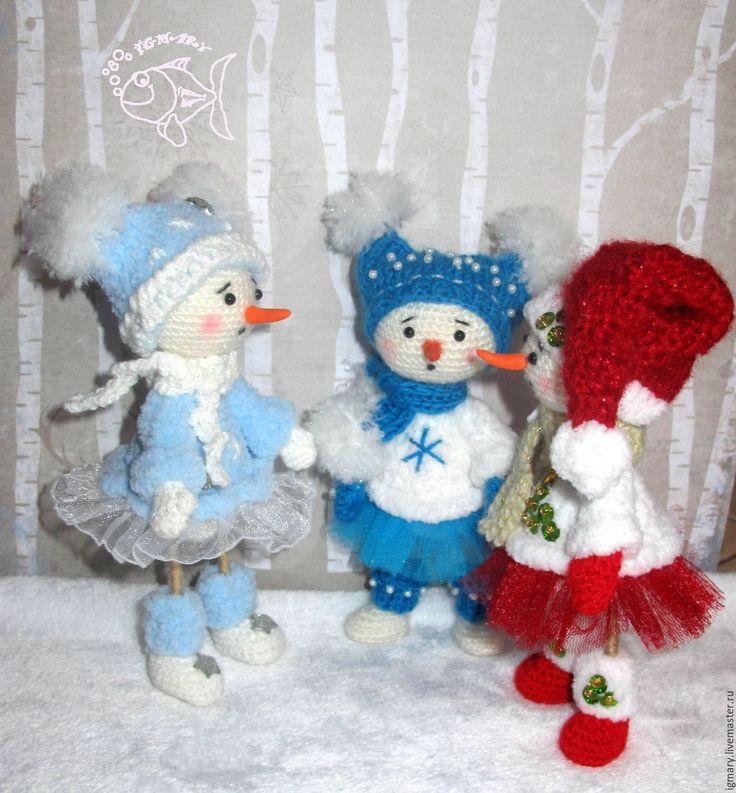 Купить МК по вязанию Снеговинка - мастер-класс, мастер класс, мастер-класс по вязанию