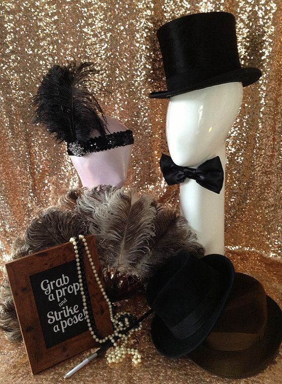 Props and costumes for the photo booth - guests will surely love these #wedding…