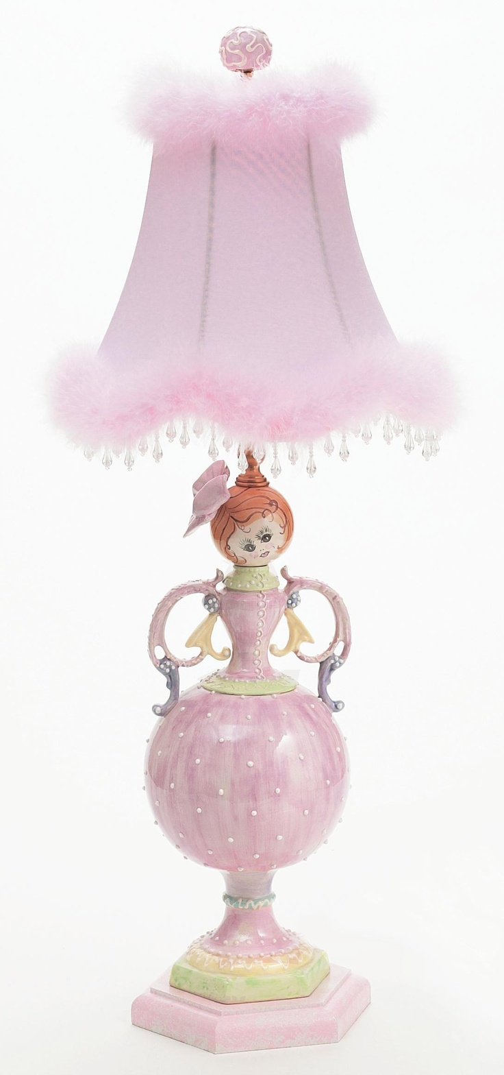 88 best lamps and shades images on pinterest chandeliers lighting fancy pink princess lamp princess lamp girlsroom arubaitofo Choice Image