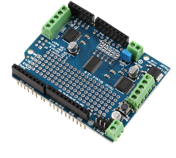 Motor Stepper Servo Robot Shield For Arduino I2c V2 Kit W Pwm Driver Arduino And Products