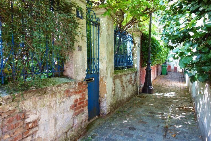 Paris : La Cité de l'Ermitage à Ménilmontant, une cité ouvrière au charme…