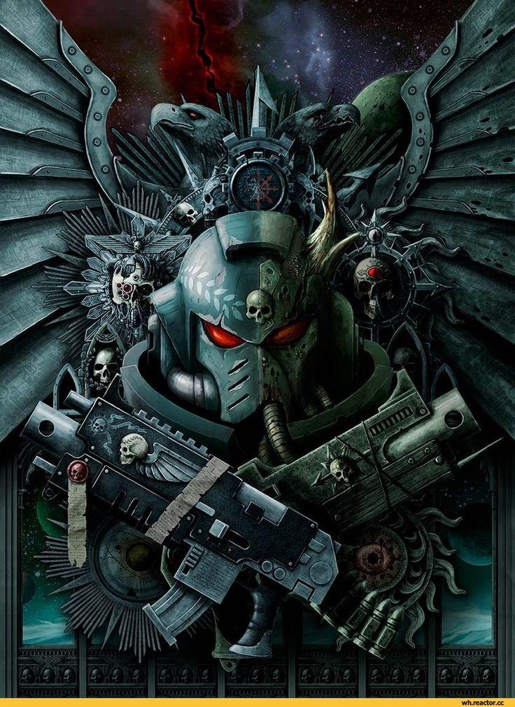 Primaris Space Marine,Warhammer 40000,warhammer40000, warhammer40k, warhammer 40k, ваха, сорокотысячник,фэндомы,Chaos Space Marine,Chaos (Wh 40000),plague marine,Nurgle