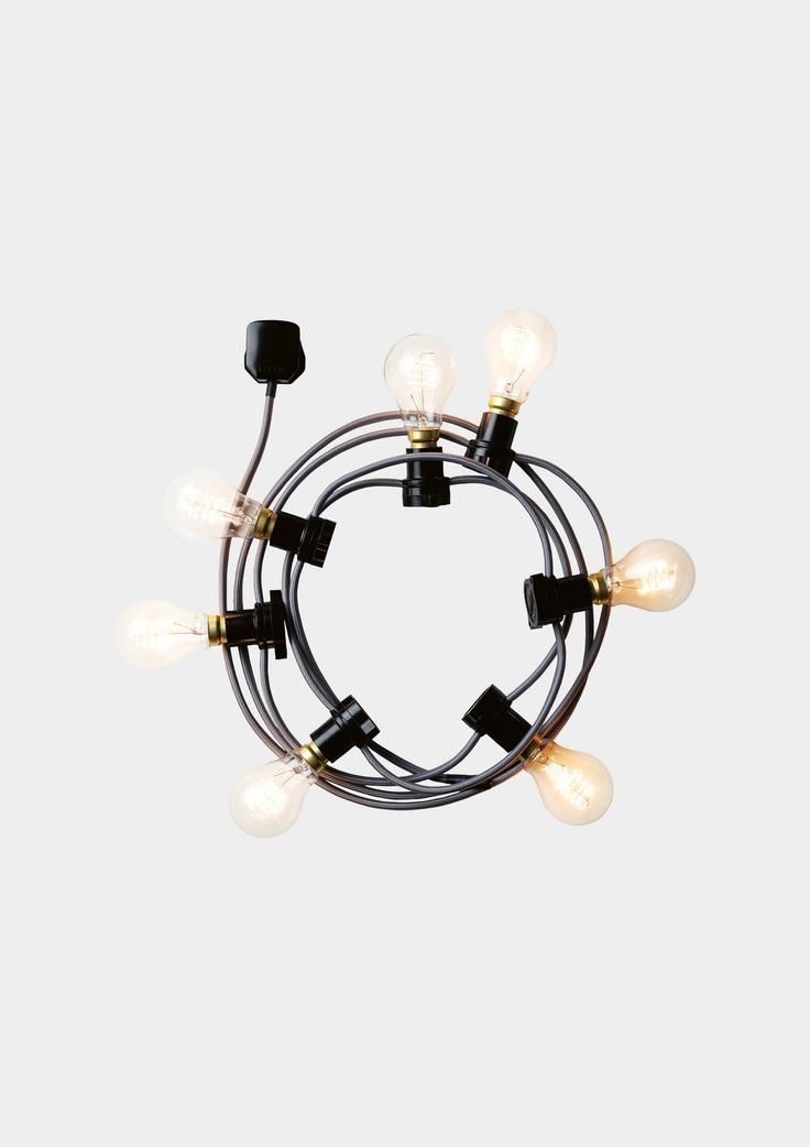 Idea para l mpara l mparas pinterest - Iluminacion para el hogar ...