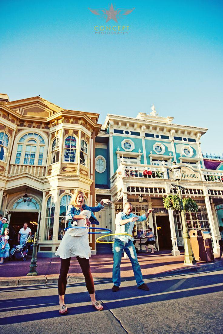 Kellie + JJ's Engagement Shoot in Walt Disney World's Magic Kingdom! » Concept Photography