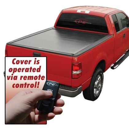 Pace Edwards 2015-2017 Ford Super Crew Super Cab 5.6ft Bed BedLocker Retractable Hard Tonneau Cover