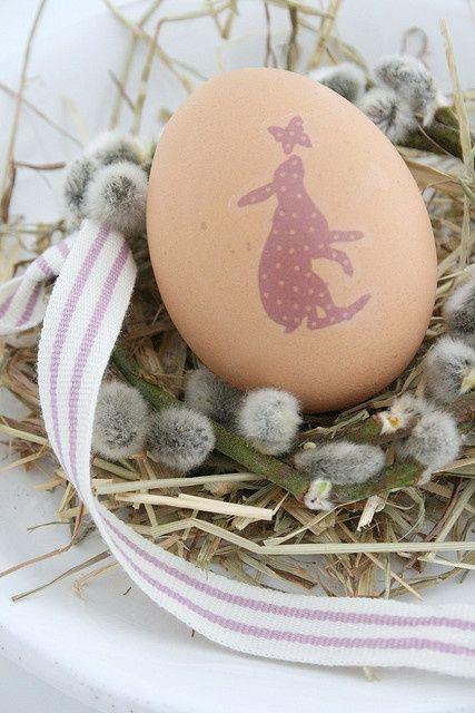 Hare Easter egg.