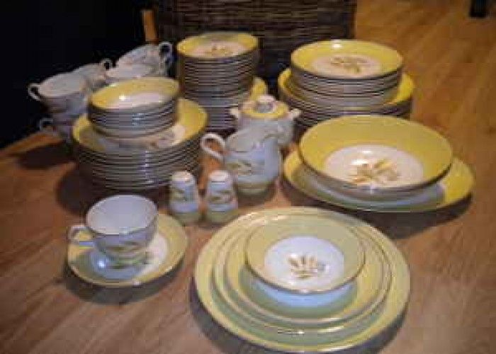 american vintage dinnerware | Old dishes (Golden Wheat) - $100 (South) for Sale in Iowa Classifieds ...