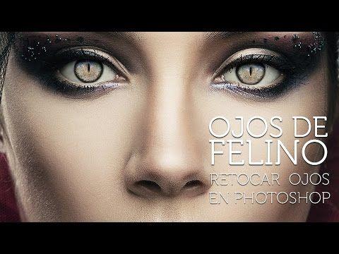 Retocar Ojos en Photoshop - Crea ojos de impacto - YouTube