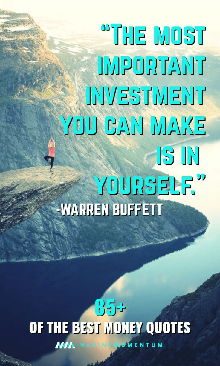 85 Best Money Quotes Inspirational Sayings To Make And Save Money Money Quotes Financial Quotes Finance Quotes