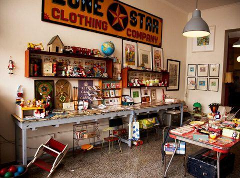 Arthur's Circus, Vintage Toy Shop, Melbourne (AUS).